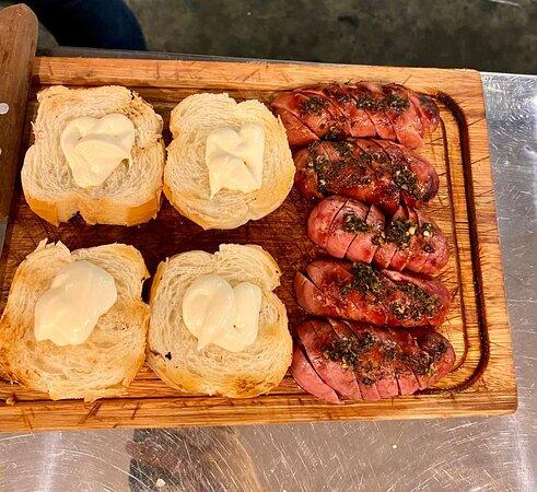 Toscana e pão de alho
