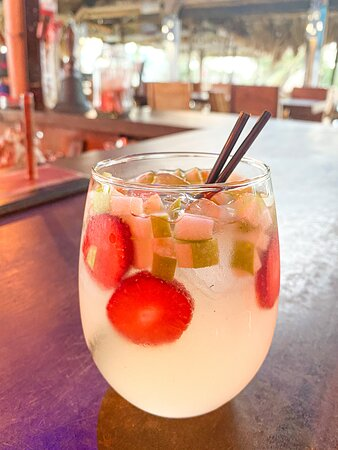 The best white sangria you will ever have!