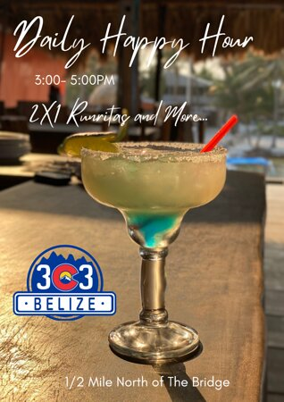 Happy Hour Daily from 3-5 PM