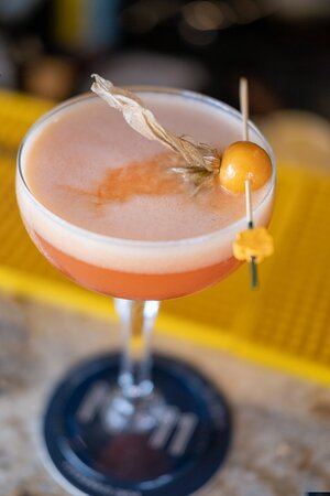 Freshly made cocktails at No11 in Port Andratx