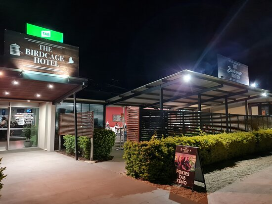 The Birdcage Hotel at Longreach.