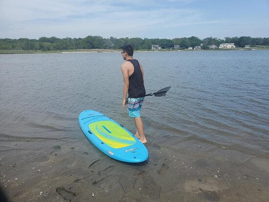 New complimentary paddle board