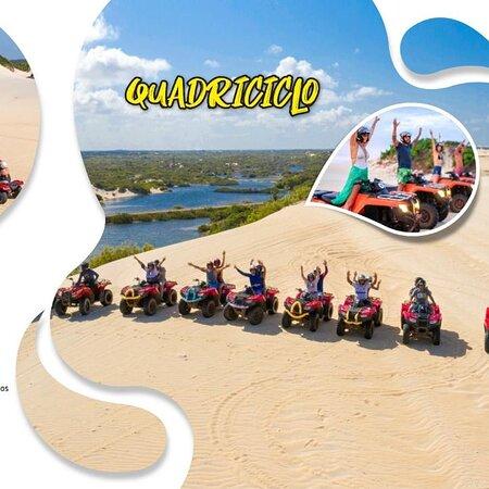 Maracajau, RN: Passeio de quadriciclo nas dunas de Maracajaú  ?  #vempradiscoveytur  @JADERGUIARNBRASIL  📲084988435127 Whatsapp