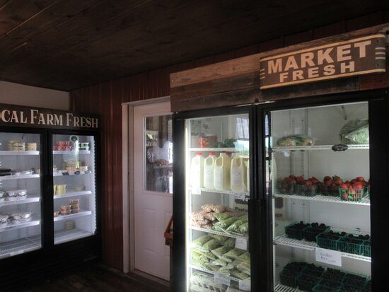Refrigerated and Baked Goods Areas