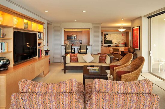 Aston at The Whaler on Kaanapali Beach - Premium Oceanfront Living Area