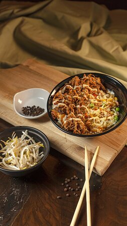 Fried Rice with Braised Pork