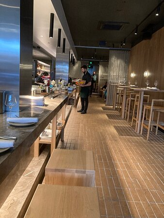 Inside ARU Restaurant