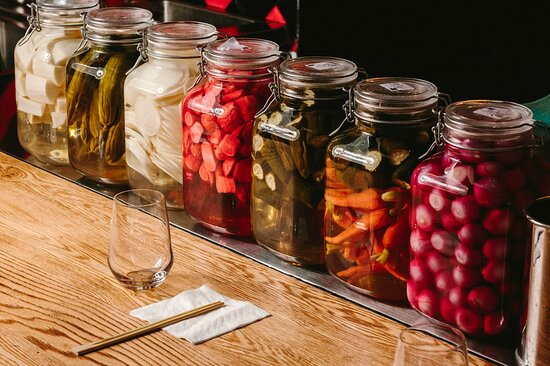 Home-made pickles