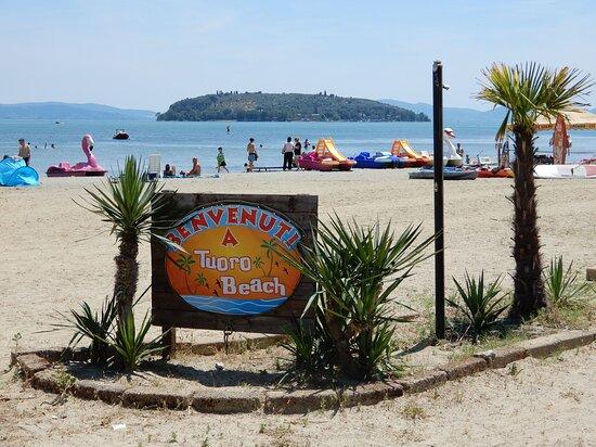 Spiaggia Tuoro Sul Trasimeno