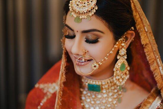 Best Bridal fashion shoot in chandigarh - Safarsaga Films