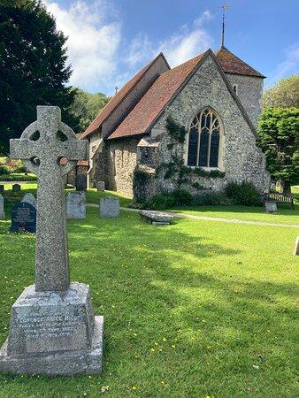 2.  St Simon & St Jude's Church, East Dean