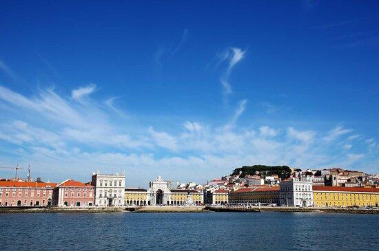 Lisbon, Portugal: Praça do Comércio view
