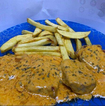 Solomillo a la salsa argentina