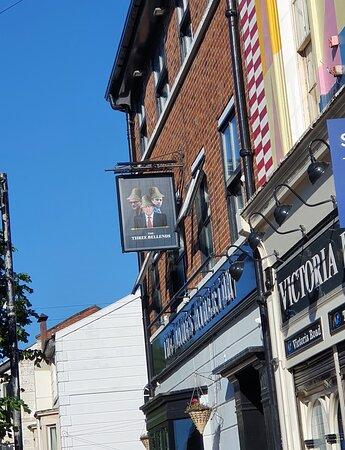 The James Atherton Pub in Victoria Quarter.