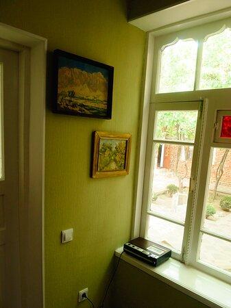 Twin room interior