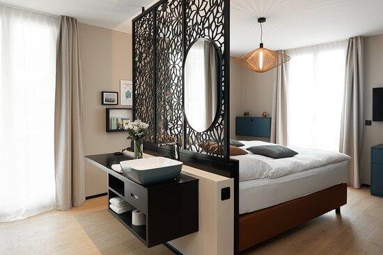 Zimmer mit Whirlpool