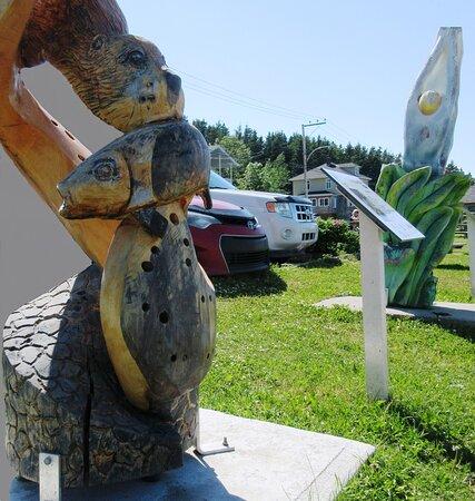 Magnifique sculpture sur la Promenade
