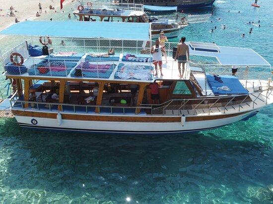 Adrasan Tekne Turu - Ismet Kaptan