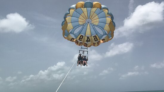 Key to the Sea Parasailing- Birds Eye View of the Best Beach in the world Picture