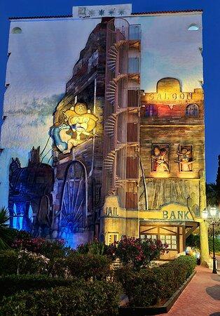 Una de las fachadas del hotel
