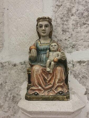 Imagen de Virgen con Niño.