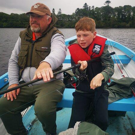 Killarney lakes in muckross