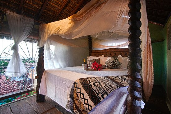 Gamboa, BA: Suite zumbi ,cama king com vista panoramica.