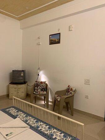 Interior of Family Quad Room