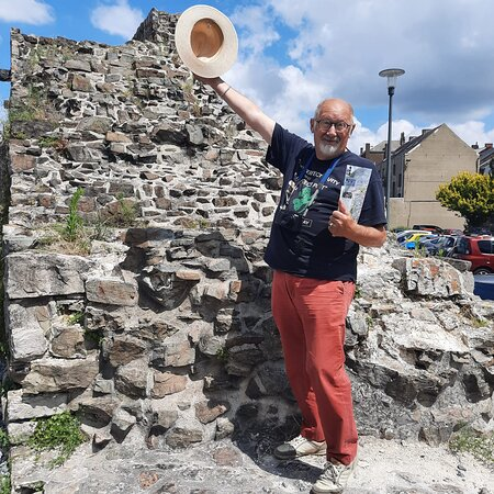 Anciens Remparts De La Ville De Binche