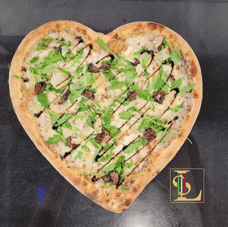 Pizza cuore Tartufata