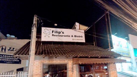 Fachada do FILIP'S Restaurante & Bistrô