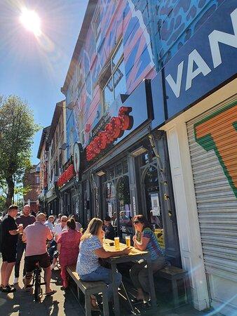 Rockpoint Records Bar New Brighton.