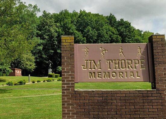 Jim Thorpe, PA: Entry view.