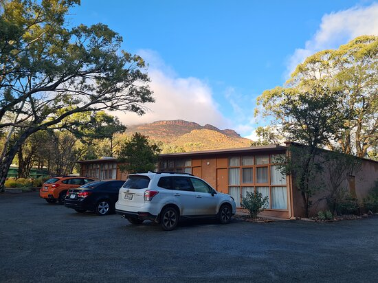 Flinders Ranges, Australia: Wilpena Pound Resort Bachina Rooms - the two closest rooms to the office get wi-fi - unlike the rest of the entire resort.