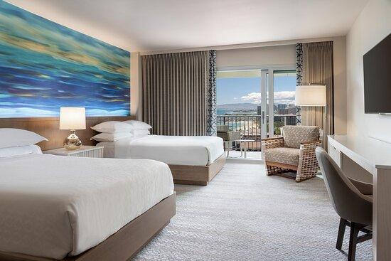 Double/Double Guest Room - Partial Ocean View