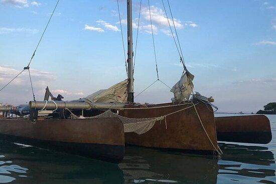 Private Trimaran Boat Tour in the Bays of Porto Cesareo