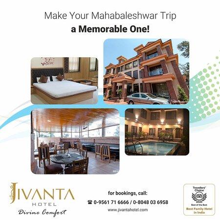 Greetings from Jivanta Hotel, Mahabaleshwar!!! !!!!!! MONSOON OFFER !!!!!! Rs. 3499/- 1 Night Including Breakfast & Dinner for 2 Guest Valid till 31 July 2021