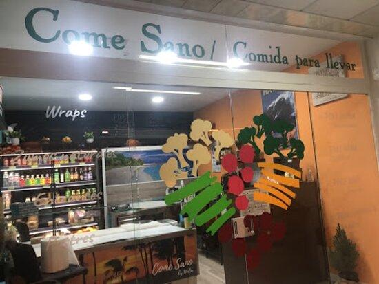 Tienda Come Sano local nº2 Arganda del Rey. Mercado Galería Comercial Loeches.