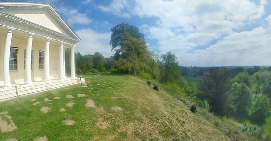 The Temple of Bacchus and views around it