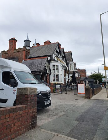 The Brookhouse Pub along Smithdown Road.