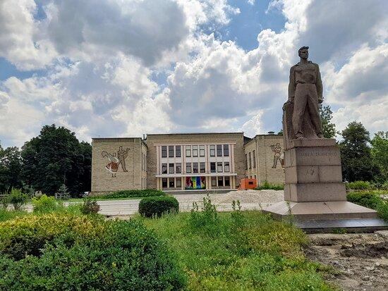 Monument to Pavel Tkachenko