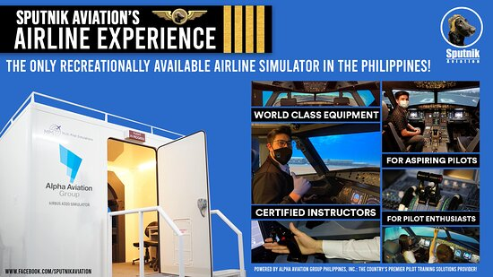 Introducing, SPUTNIK AVIATION'S AIRLINE EXPERIENCE! Calling all aspiring pilots, aviation enthusiasts, and those of you have always dreamed of sitting in an airliner cockpit! Sputnik Aviation, in partnership with Alpha Aviation Group, brings you the only recreationally available airliner flight simulator, NOW OPEN FOR BOOKING! Ever wondered what it's like for pilots to fly multi-million dollar,  jet aircraft on a daily basis? Here is your chance to be at the controls of an Airbus A320.