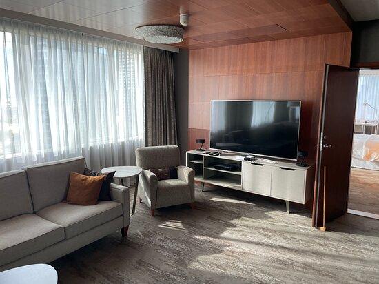 Living Room Presidential Suite