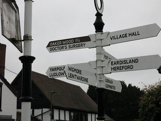 Kingsland village...