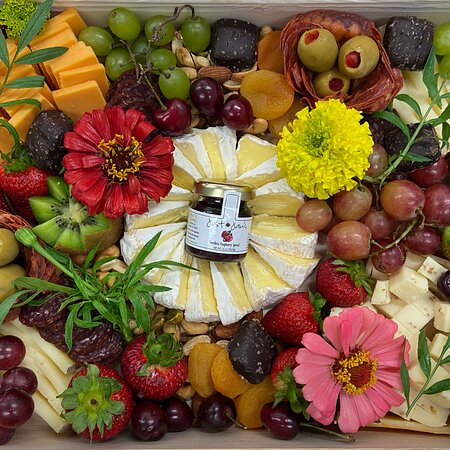 Order a cheese board online, by email or visit in store! We require a day's notice for boards!