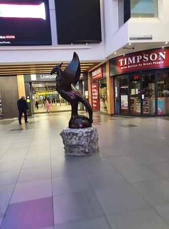 Liverbird Statue