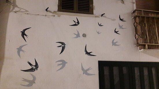Campomarino, Italia: Stupendi murales