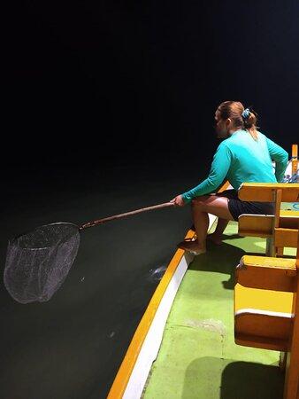 Dona Giselly pescando agulhinha 🤩