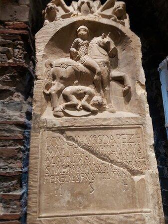 The original Cavalry Grave Marker