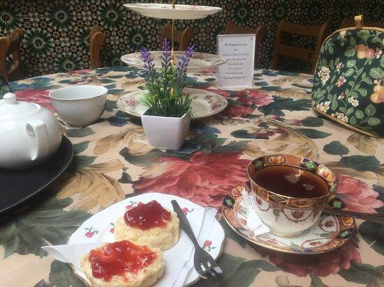 Beautiful tea rooms